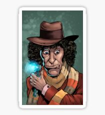 Dr Who Tom Baker Sticker