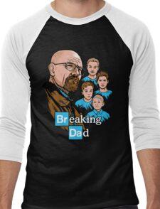 Breaking Dad Men's Baseball ¾ T-Shirt