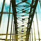 sydney harbour bridge by Vin  Zzep