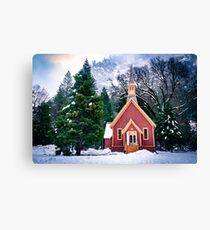 Yosemite Church Canvas Print