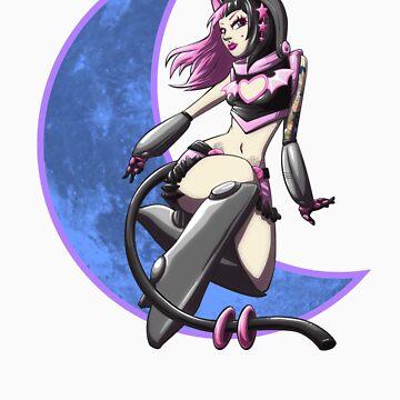 Moon cat by cbangel