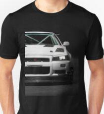 Mat Wootten's Nissan Skyline R34 GTT Unisex T-Shirt