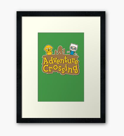 Adventure Crossing Framed Print