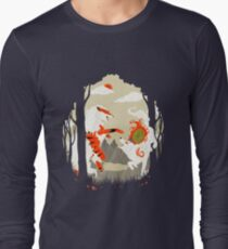 Great Wolves of Fire (Featured on Teefury) Long Sleeve T-Shirt