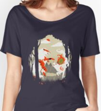 Great Wolves of Fire (Featured on Teefury) Women's Relaxed Fit T-Shirt