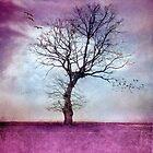 ATMOSPHERIC TREE   Morning Glow by INA Heinz