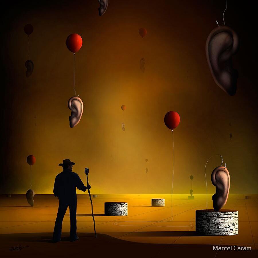 O Orador. by Marcel Caram