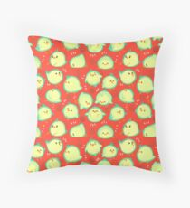 Chickies Throw Pillow
