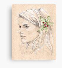 Holly Canvas Print