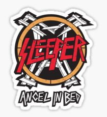 Sleeper: Angel In Bed Sticker