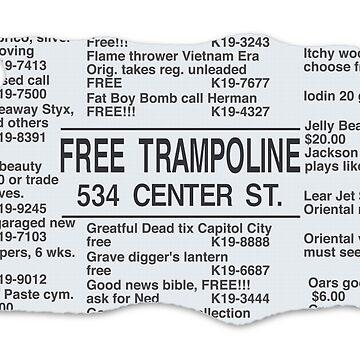 FREE TRAMPOLINE by rubenwills