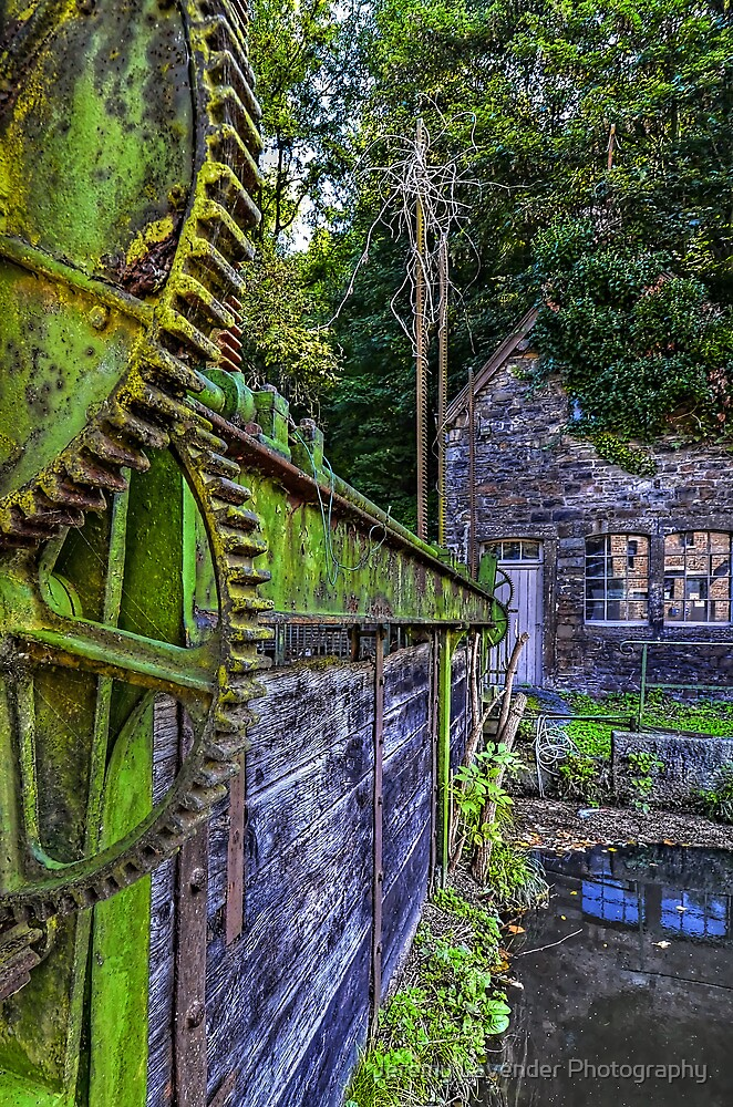 """La Fenderie"" Sluice Gate - Trooz, Belgium by Jeremy Lavender Photography"