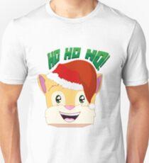 "Minecraft Youtuber Stampy Cat - Santa / Christmas / Winter / Holiday Limited Edition ""Ho Ho Ho!"" T-Shirt"