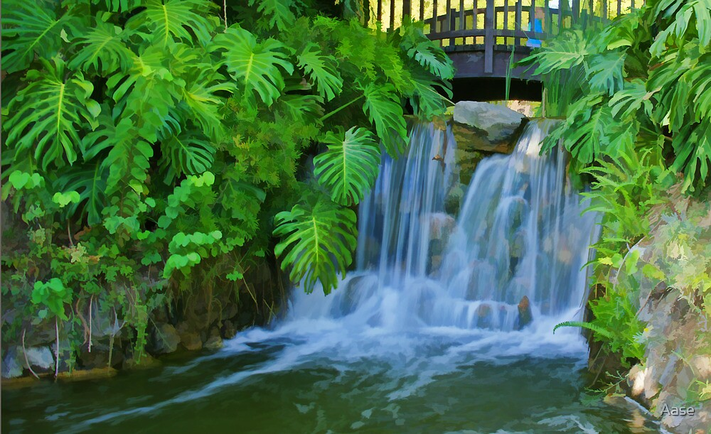 Waterfall by Aase