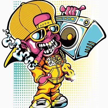 Ghetto Rapper by ccorkin