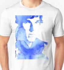 sherlock in blue Unisex T-Shirt