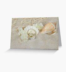 Beach Wedding Greeting Card