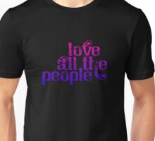 Love All The People (Bi Pride Version) Unisex T-Shirt