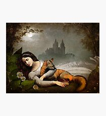 dreaming in the woods Photographic Print