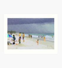 Storms Approach Art Print