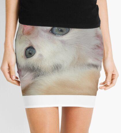 Silly girl with a cute face Mini Skirt