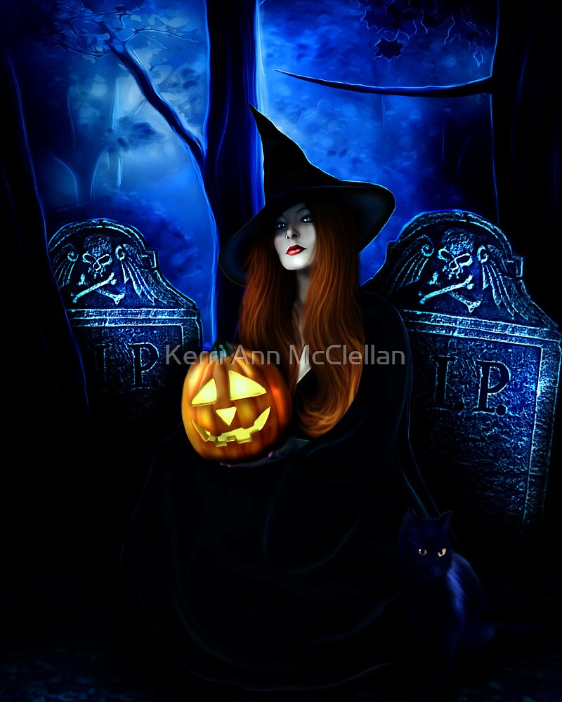 Samhain Witch by Kerri Ann Crau