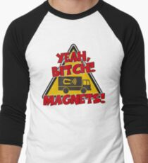 Breaking Bad Inspired - Yeah, Bitch! Magnets! - Jesse Pinkman Magnets - Magnet Truck - Walter White - Heisenberg Men's Baseball ¾ T-Shirt