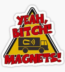 Breaking Bad Inspired - Yeah, Bitch! Magnets! - Jesse Pinkman Magnets - Magnet Truck - Walter White - Heisenberg Sticker