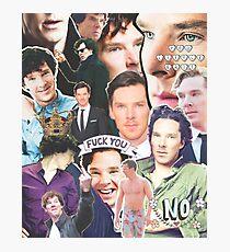 benedict collage Photographic Print