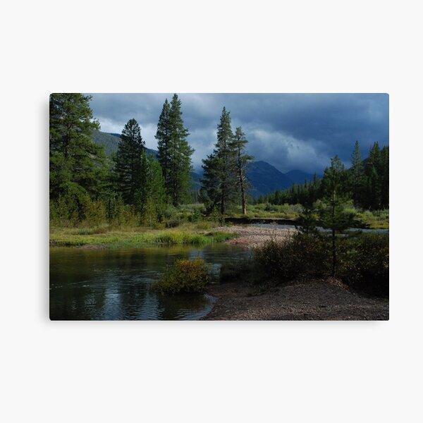 Storm Light Canvas Print
