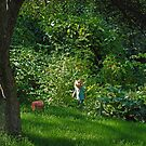 Garden Child by Robert C Richmond