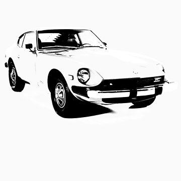 Datsun 240z by tiefholz