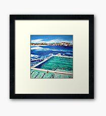 Bondi Icebergs Summer Framed Print