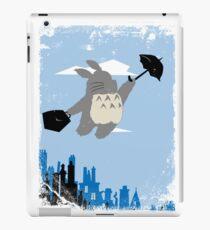 Totoro Poppins iPad Case/Skin