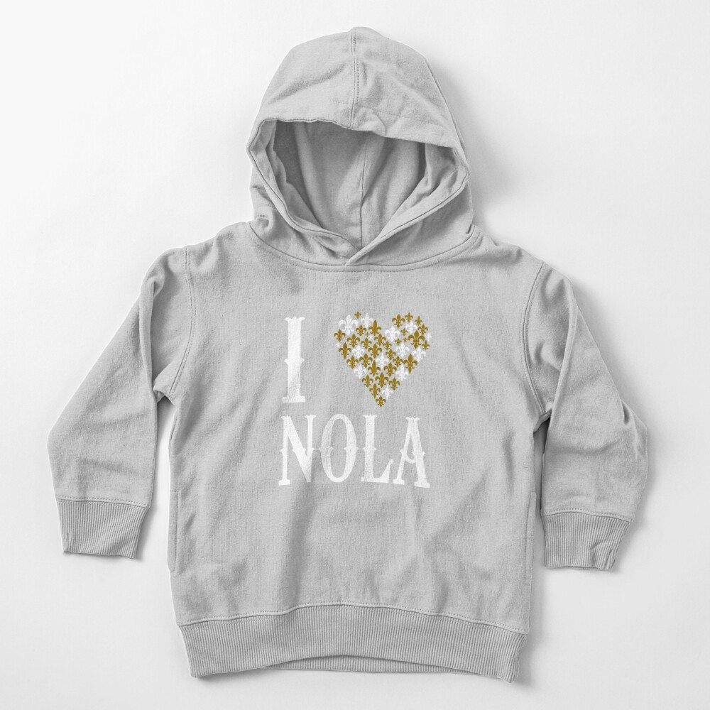 I heart NOLA Toddler Pullover Hoodie
