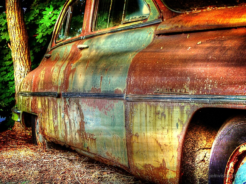 Rusty Chrysler Packard HDR by jemvistaprint