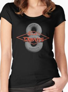 Drew's Donuts 2 Women's Fitted Scoop T-Shirt