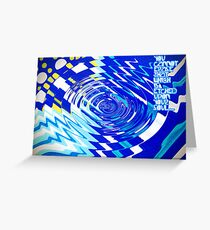 etched Greeting Card