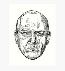 Hank Schrader Breaking Bad Art Print