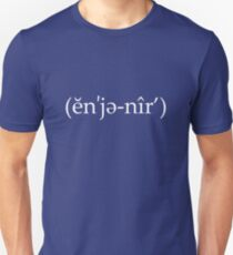 Engineer (ĕn'jə-nîr') T-Shirt