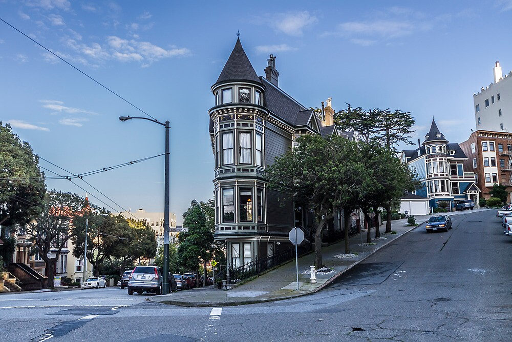 Home in Haight by Richard Thelen