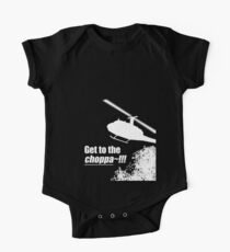 Quotes and quips - Choppa~ - dark One Piece - Short Sleeve