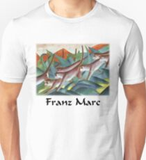 Franz Marc - Monkey Frieze T-Shirt