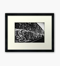 Graffiti : Brighton Framed Print