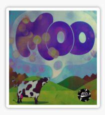 Moo Sticker