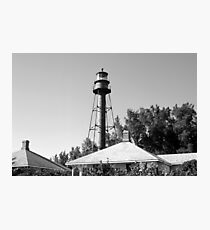 Sanible Island Lighthouse Photographic Print