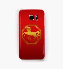 Chinese Zodiac Year of The Horse Symbol Samsung Galaxy Case/Skin