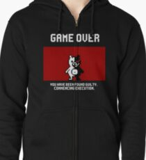 Commencing Execution Zipped Hoodie