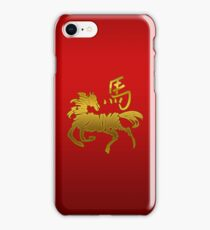 Year of The Horse Abstract T-Shirts Gifts iPhone Case/Skin
