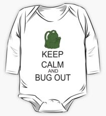 Keep Calm And Bug Out One Piece - Long Sleeve